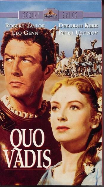 Quo vadis (1951) 3 VHS USA